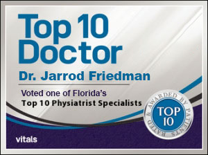 dr jarrod friedman top ten doctor florida